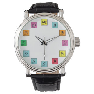 Chemistry Time Wristwatches