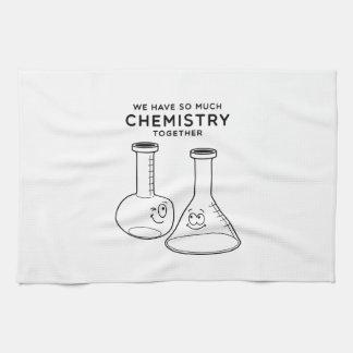 Chemistry Together Tea Towel