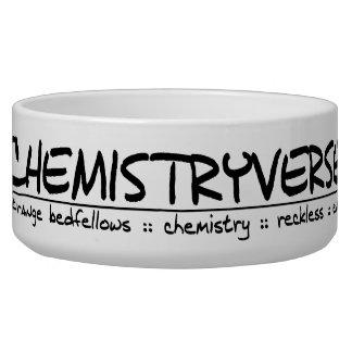 Chemistryverse Logo Pet Dish (Large) Dog Food Bowl