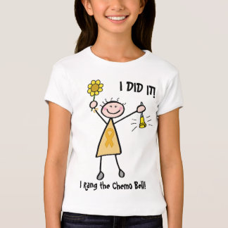 Chemo Bell - Childhood Cancer Gold Ribbon Shirt