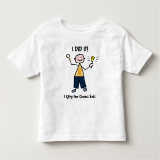 Chemo Bell - Childhood Cancer Gold Ribbon Tees