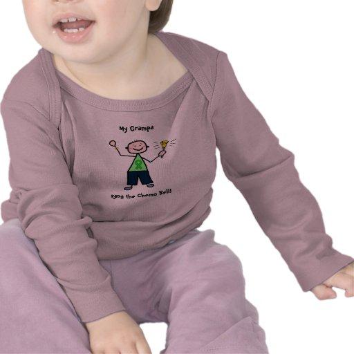 Chemo Bell - Green Ribbon Man T Shirts