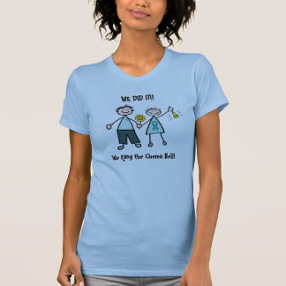 Chemo Bell - Teal Ribbon Shirts