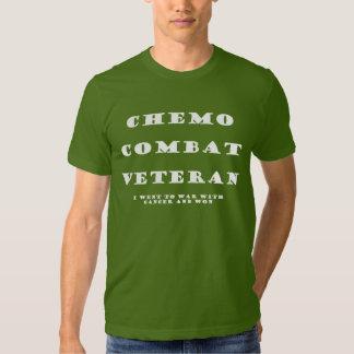Chemo Combat Veteran Tshirts