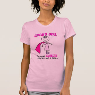 CHEMO GIRL CANCER T-Shirt