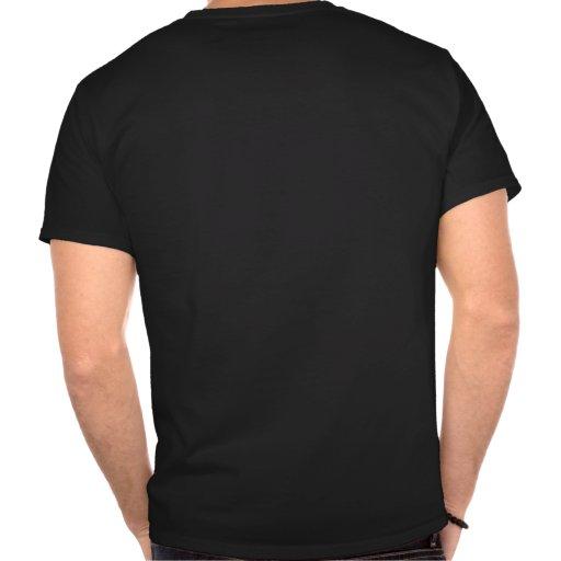 Chemo Ninja Cancer Assassain hiding in the Dark T-shirt