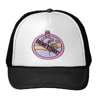 Chemo Stinks Breast Cancer Hat