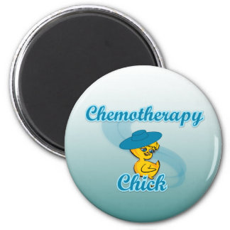 Chemotherapy Chick 3 Refrigerator Magnet