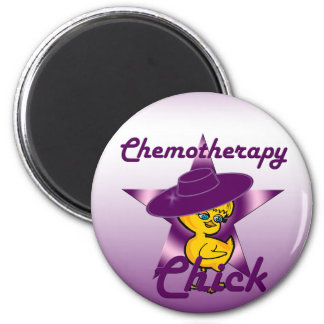 Chemotherapy Chick #9 6 Cm Round Magnet