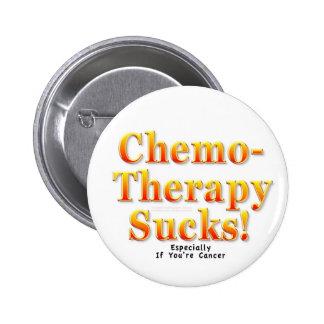 Chemotherapy Sucks! 6 Cm Round Badge