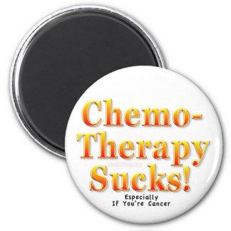 Chemotherapy Sucks! 6 Cm Round Magnet