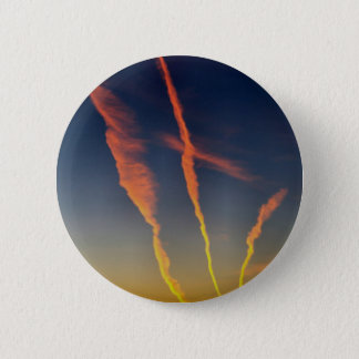 ChemTrails 6 Cm Round Badge