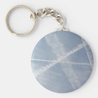 Chemtrails Over Spain Key Ring