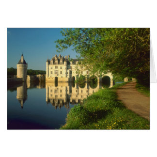 Chenonceau Chateau, Loire Valley, Greeting Card