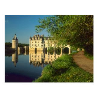 Chenonceau Chateau, Loire Valley, Postcard