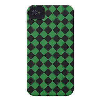 ChequerBoard (Green/Black) Blackberry Case