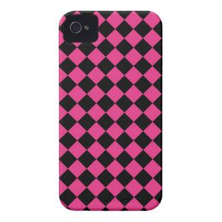 ChequerBoard (Magenta/Black) Blackberry Case