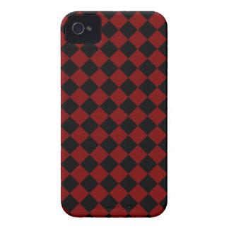 ChequerBoard (Red/Black) Blackberry Case