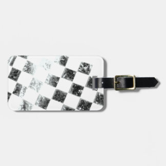 Chequered Flag Bag Tag