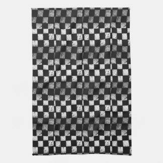 Chequered Flag Kitchen Towel