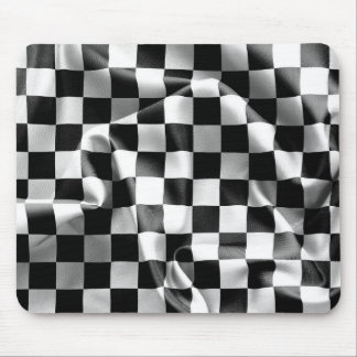 Chequered Flag Mouse Pad