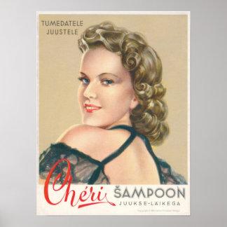 Cheri Shampoo Poster