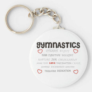 Cherish Gymnastics Key Ring