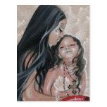 Cherish Mermaid and Child Postcard