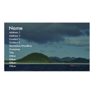 Chernabura Island, Shumagin Island group Business Card