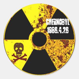 Chernobyl 25th year memorial sticker