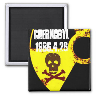 Chernobyl memorial anti nuclear magnet