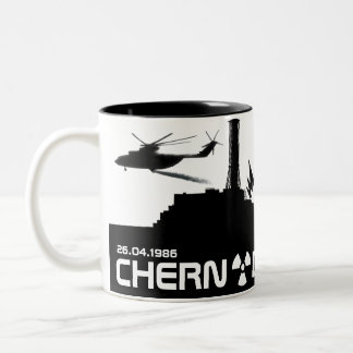 Chernobyl Mug/cup Two-Tone Coffee Mug