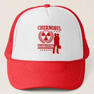 Chernobyl University Nuclear Science Geek Humor Trucker Hat