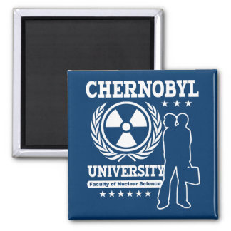Chernobyl University Nuclear Science Refrigerator Magnets