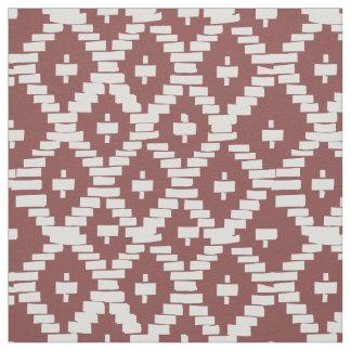 Cherokee Basket Design on Fabric