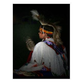 Cherokee Boy Postcard