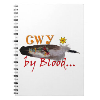 Cherokee by Blood Notebook