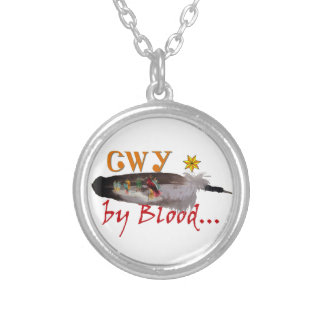 Cherokee by Blood Silver Plated Necklace