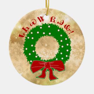 Cherokee Christmas Wreath Ornament
