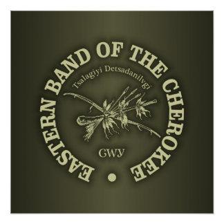 Cherokee (Eastern Band) Poster