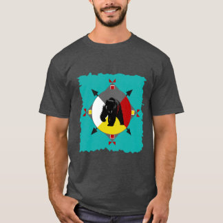 Cherokee Four Directions Bear T-Shirt