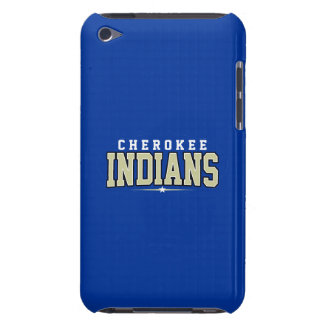 Cherokee High School; Indians iPod Touch Case-Mate Case