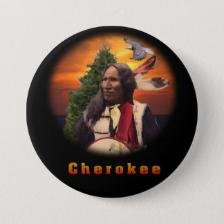 Cherokee Indian products 7.5 Cm Round Badge