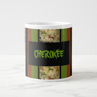 Cherokee mug 20 oz large ceramic coffee mug