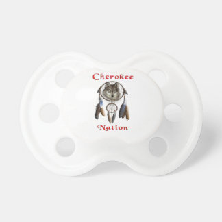 Cherokee Nation  clothing Baby Pacifier