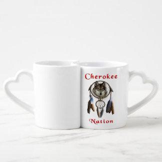 Cherokee Nation  clothing Coffee Mug Set