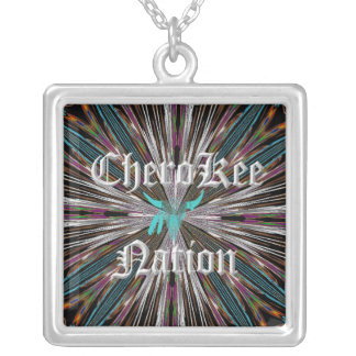 Cherokee Nations Sterling Silver necklace