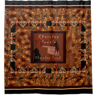 Cherokee People Shower Curtain