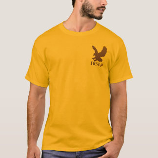 Cherokee Pride and Eagle in Brown T-Shirt
