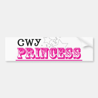 Cherokee Princess Bumper Sticker